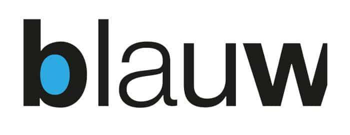 Blauw – grafisch ontwerp & webdesign Logo